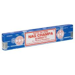 Nag Champa Incense Sticks (15g) - FIVE PACKS - AVERAGE 15 STICKS PER PACK