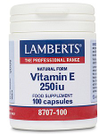 Vitamin E Natural 250iu (100 caps)