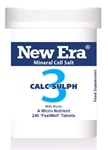 Calc Sulph No. 3 ( 240 Tablets ) For Acne, adolescent pimples; skin slow to heal; sore lips. A blood constituent