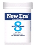Mag Phos No. 8 ( 240 Tablets ) For Cramp; neuralgia; flatulence; spasmodic nerve pains. A soft tissue constituent.