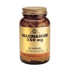 Nicotinamide ( Formally called Niacinamide) 550mg (100 Vegicaps)