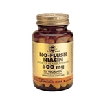 No-Flush Niacin 500mg (50 Vegicaps)