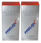 PRELOX ( 60 TAB ) TWO PACKS - revitalize your sexual performance. ECONOMY PACK