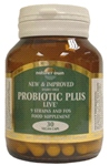 Probiotic plus: 9 strains of freindly bacteria (With FOS) 30 veg caps