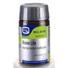 Vision Life - Eye Nutrient Complex A blend of Lutein with antioxidant vitamins & minerals (30 Tabs)