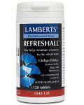 Refreshall (Ginko, Lemon Balm, Sage and Rosemary 120 tabs