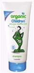 Organic Children Shampoo -Lavendar (200ml)