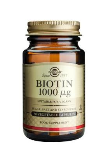 Biotin 1000 ug (50 Vegetable Capsules)