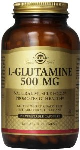 L-Glutamine 500mg (250 Vegicaps) - Supports Brain & Mental Alertness