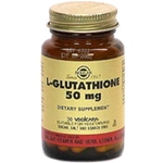 L-Glutathione 50mg (30 Vegicaps) - purest quality & standard strength