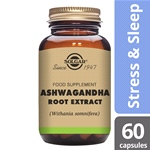 Ashwagandha Root Extract 60 Vegetable Capsules