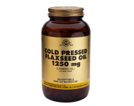 Flaxseed Oil 1250mg Cold Pressed (100 Softgels)