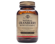 Natural Cranberry with Vitamin C (60 Veg Caps)