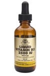 Liquid Vitamin D3 (2500 iu = 62.5 Micro grams) 59ml