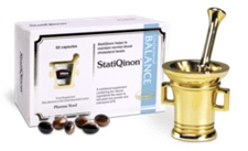 StatiQinon (60 capsules) - Helps to maintain normal blood cholesterol levels.