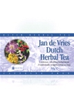 Jan de Vries range  Dutch herbal tea (25x2g)