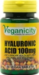 Hyaluronic Acid 100mg (30 V Tabs) - joint care and anti-ageing