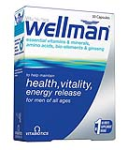 Wellman (30 caps) - Nutrition support for man