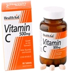 Vitamin C 500mg - Chewable (Orange Flavour) - (60 tablets)
