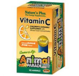 Animal Parade Vitamin C ( 90 chewable-orange juice flavour)