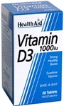 Vitamin D3 1000iu (30 tablets)