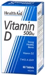 Vitamin D 500iu (60 tablets)