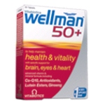 Wellman 50+ (30 tabs) - Nutrition support for men